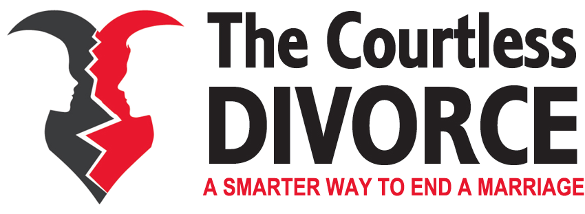 logo courtless divorce