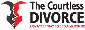 the courtless divorce logo