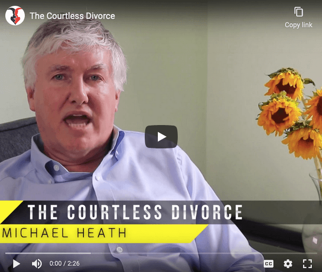 video of Michael Heath from The Courtless Divorce